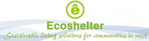 Ecoshelter Logo - Sustainable Living Solutions for Communities in Need